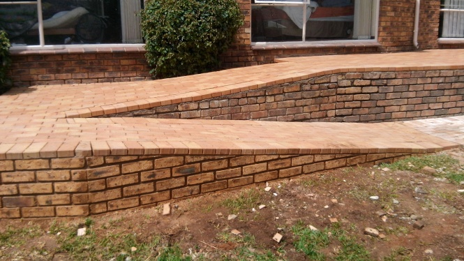 wheel chair ramp in Corobrick.