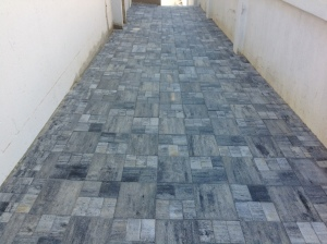 Urban paver in Granite look