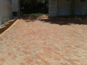 clay paving bricks
