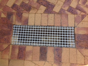 Paving and mentis grid with Corobrick